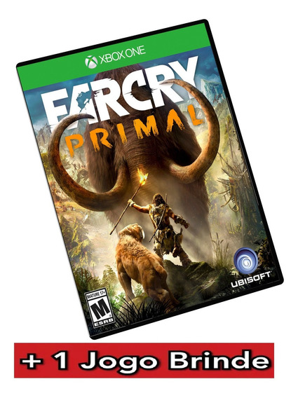 Far Cry Primal Xbox One Midia Digital + Brinde