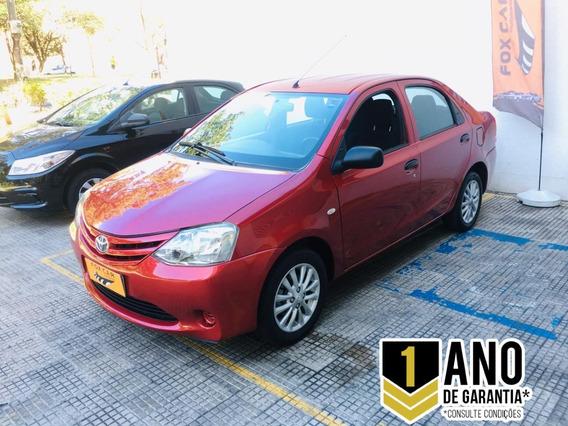 Etios Sedan X 1.5 2013/13 Manual Flex (8299)