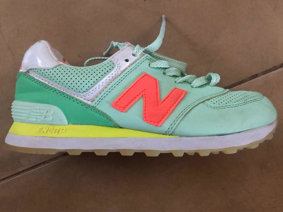 Zapatillas New Balance 574 Talle 37