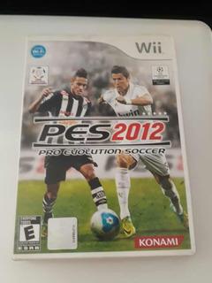 Pes 2012 Pro Evolution Soccer Nintendo Wii Videojuego
