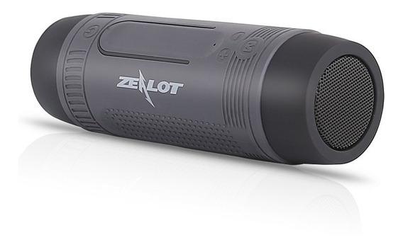Caixa De Som Bluetooth Multifuncional Zealot S1