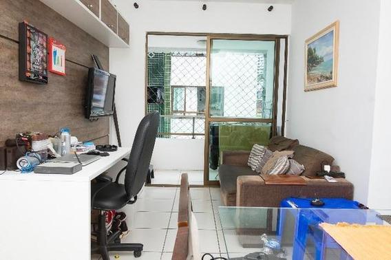 Apartamento Em Tamarineira, Recife/pe De 58m² 1 Quartos À Venda Por R$ 250.000,00 - Ap280477