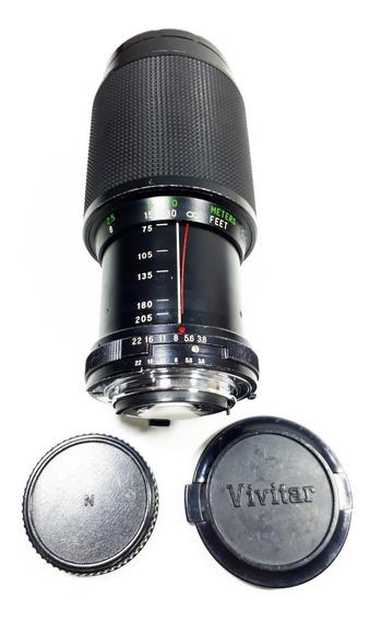 Objetiva Vivitar Profissional Rokinon Macro 75-205 Mm (ótima