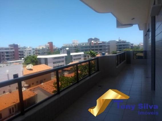 Aluguel Fixo E Temporada !cobertura 4 Quartos Na Vila Nova Em Cabo Frio - 618