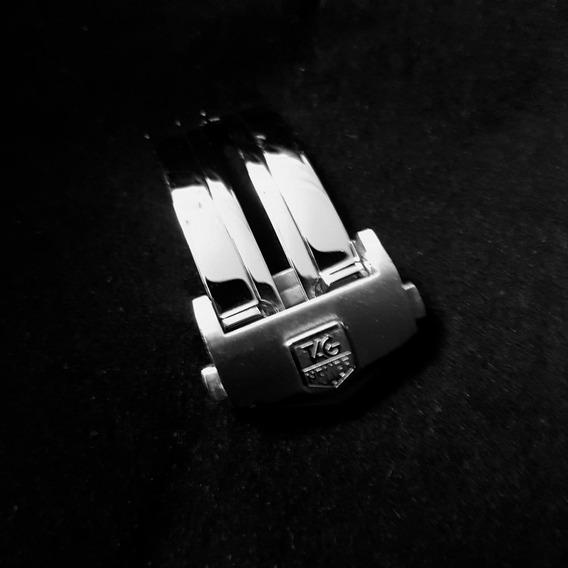 Broche Desplegable De Acero De 20mm Para Tag Heuer