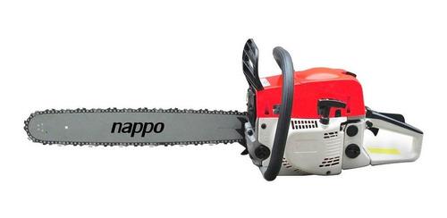 Motosierra Nappo Nafta 52cc 2.2kw Arranque Fácil Loi