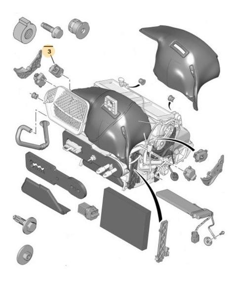 Motorreductor Climatizador Der. Peugeot 407 2.0 Hdi