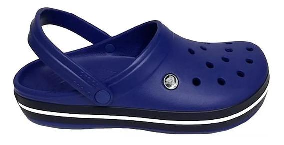Crocs Crocband Sea Blue Navy Azul Hombre