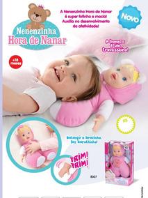 Boneca Baby Nenenzinha Soninho Hora Da Naninha - Divertoys