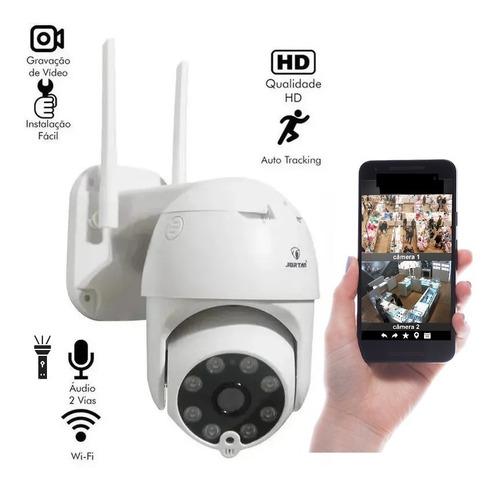 Camera Ip Hd Speed Dome Wifi Infravermelho Prova D'água