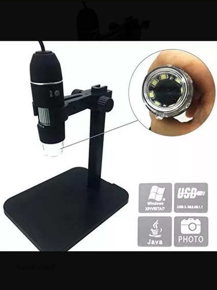 Microscopio Digital Usb 1000x Con Base