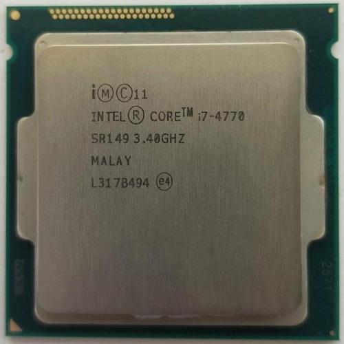 Imagem 1 de 1 de Processador Gamer Intel Core I7-4770 De 4 Núcleos E 3.90ghz