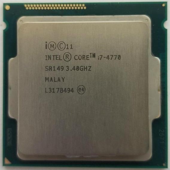Processador Intel Core i7-4770 4 núcleos 32 GB