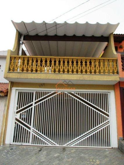 Sobrado Com 3 Dormitórios À Venda Por R$ 380.000,00 - Itaquera - São Paulo/sp - So0129