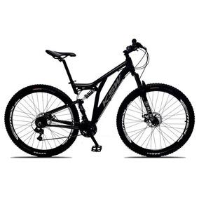 Bicicleta Full Impact Aro 29 Quadro 19 Alumínio 21v Suspensã