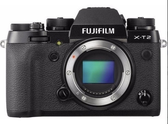 Camera Fujifilm Xt2 Mirrorless Xt 2 Nova C/ Garantia +nf.e #