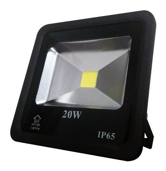 Refletor Eco Led Externo Smd Ip65 20w 6500k Br Biv Up Led