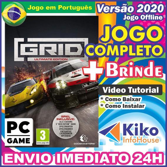 Grid 2019 Ultimate Edition - Pc Digital Pt/br + Brinde