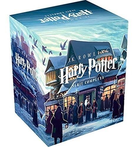 Box Livros Harry Potter Série Completa 7 Livros J.k. Rowling
