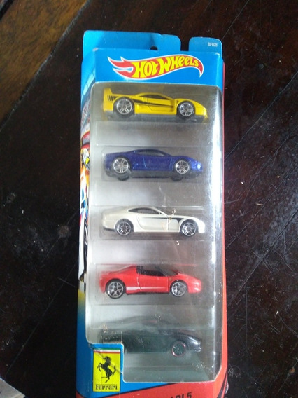 Pack De Ferrari Hot Wheels, 2013! Lacrado No Blister!