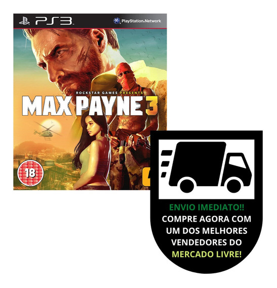Max Payne 3 - Ps3 Playstation 3 - Queima De Estoque!