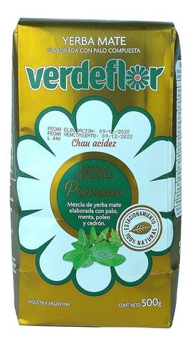Imagen 1 de 2 de Yerba Mate Verdeflor Hierbas Serranas Premium