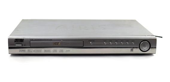 Dvd Player Airis L113a Bivolt Rca Scart Sem Controle A9035