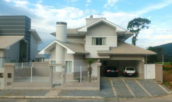 Casa Em Loteamento Santa Catarina, Biguaçu/sc De 292m² 4 Quartos À Venda Por R$ 740.000,00 - Ca187773