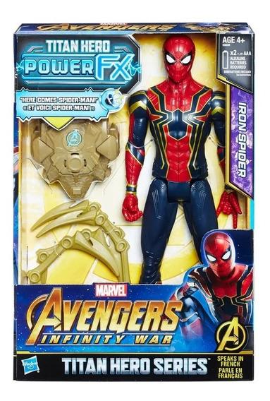 Figura De Ação -guerra Infinita - Titan Hero - Spider-man