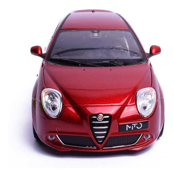 Auto De Colección Welly Alfa Mito. A Escala 1:24 Lionels