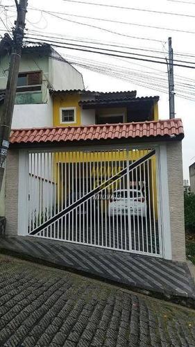 Sobrado Com 3 Dormitórios À Venda, 142 M² Por R$ 620.000,00 - Vila Silveira - Guarulhos/sp - So0319