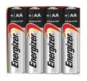 Pilha Energizer Aa2 4 Unidades Cartela C/4 Longa Duração.