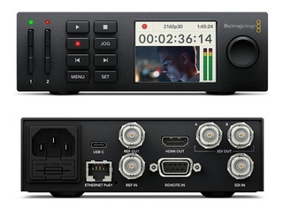 Blackmagic Hyperdeck Studio Mini 4k - À Vista Mais Barato