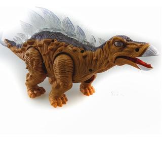 Dinosaurio Articulado Eléctrico Camina Con Sonidos Y Luces