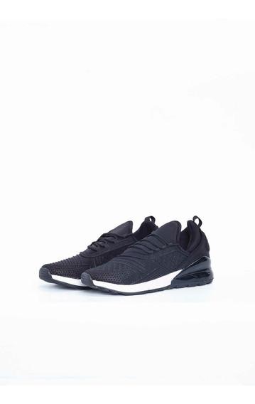 Zapatos Deportivos Negro Quest