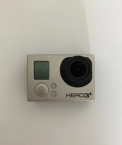 Gopro Hero 3+ Black Com Display Lcd, Bacpack E Acessórios