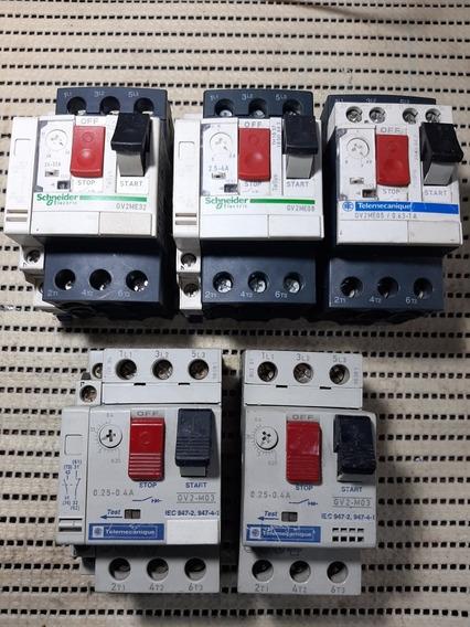 Disjuntores Motor Schneider (lote)