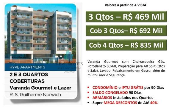 Apartamento A Venda No Bairro Anil Em Rio De Janeiro - Rj. - Hype Freguesia-1
