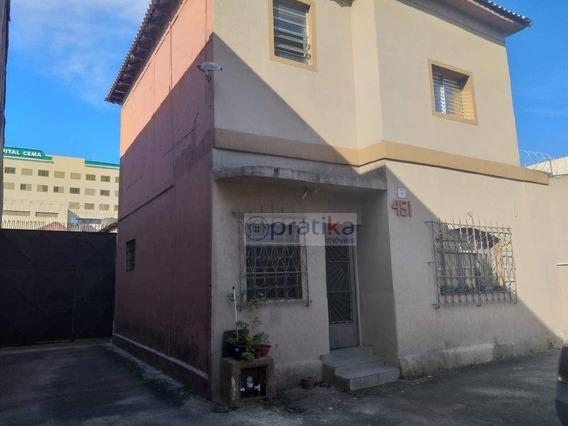 Galpão Para Alugar, 980 M² Por R$ 8.000/mês - Belenzinho - São Paulo/sp - Ga0067