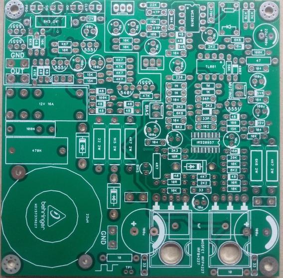 Placa Lisa Amplificador Digital Classe D 800w