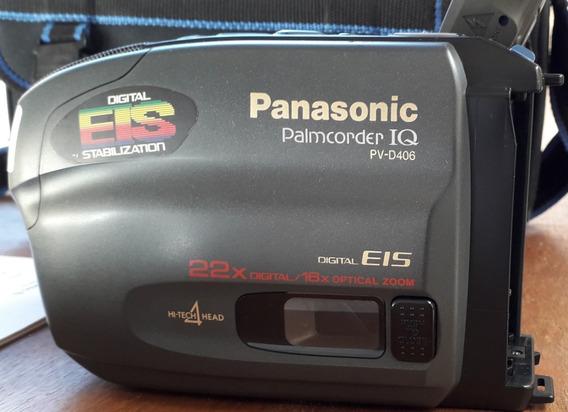 Filmadora Panasonic Pv D406 22x Digital E 16x Analógico