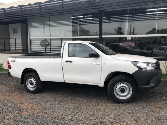 Toyota Hilux Cs Diesel 4x4 Manual 19/19 0km Só 122.990