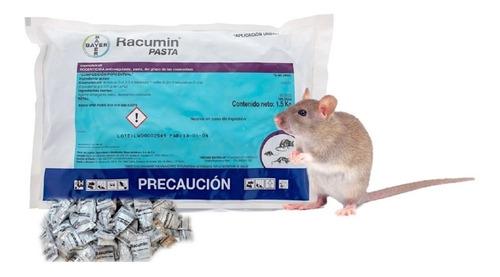Racumin Pasta Rodenticida Elimina Ratas Y Ratones Bayer 1.5k