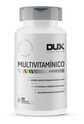 Multivitamínico 90 Cápsulas Dux Nutrition Melhor Que Centrum
