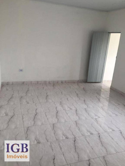 Casa Com 1 Dormitório Para Alugar, 50 M² Por R$ 750/mês - Casa Verde - São Paulo/sp - Ca0771