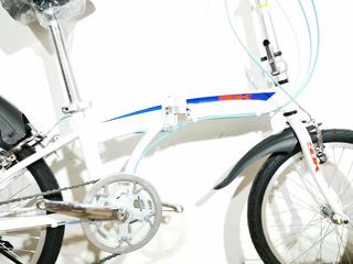 Bicicleta Plegable Sbk Rodado 20 Freno V-brake Envio