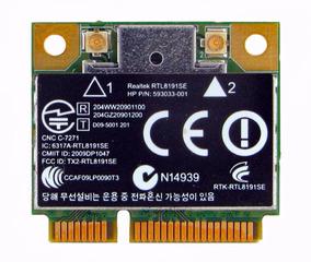 Realtek Rtl8191se Mini Pci-e 802.11b / G / N Wlan Wifi