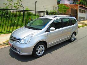 Nissan Grand Livina 2014 1.8 Sl Flex Aut. 7 Lugares + Couro