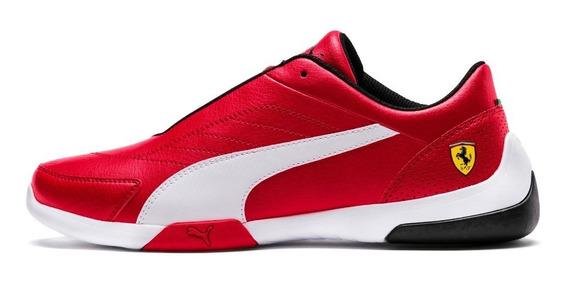 Tenis Puma Sf Kart Cat Iii Ferrari Rojo 306219 01