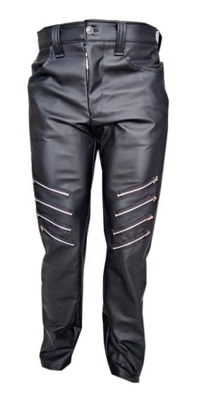 Eretica Ropa Dark-pantalon Vinil Cierres-gotico-punk-rock